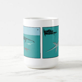 Branco caneca de 444 ml - monstro do Cubist
