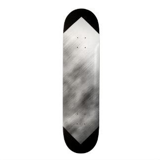 Branco cinzento escovado 3 customizáveis do olhar  skate personalizado