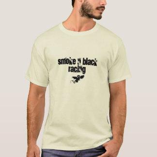 Branco cru da determinação camiseta