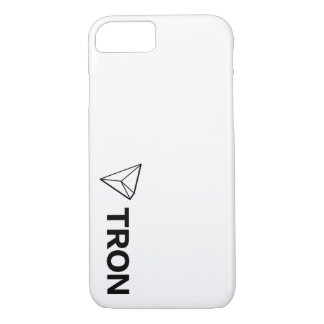 Branco da capa de telefone de TRON TRX