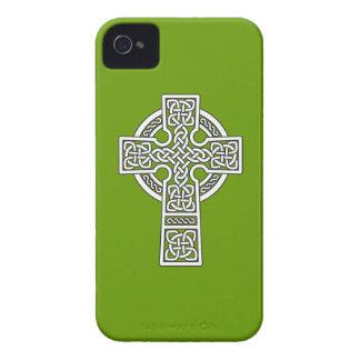 Branco da cruz celta capa para iPhone