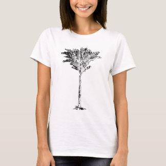Branco da palmeira 2 os presentes de Zazzle do Camiseta