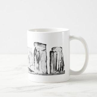 Branco de Stonehenge os presentes de Zazzle do Caneca De Café