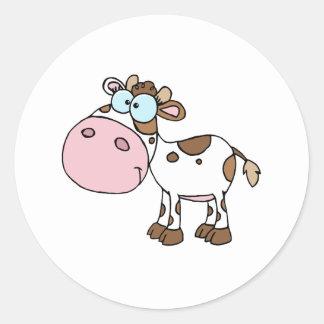 Branco diferente da cor da vitela do personagem de adesivo