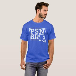 Branco do BR do PSN na camisa do T dos homens