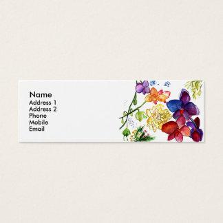 Branco do cartão de visita do divertimento da