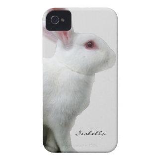 Branco do coelho capa para iPhone