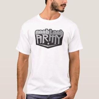 Branco do exército de NooBTooB Camiseta