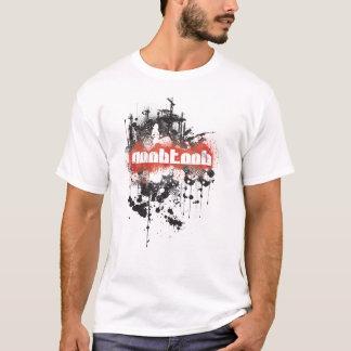 Branco do Grunge-BR de NooBTooB Camiseta