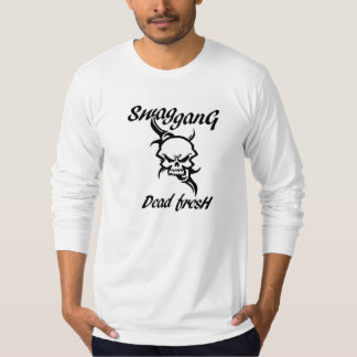 branco do hoodie do bella do swaggang t-shirts