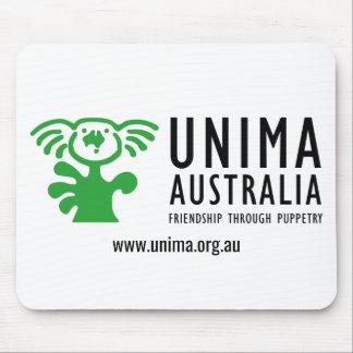 BRANCO do tapete do rato de UNIMA Austrália Mousepad