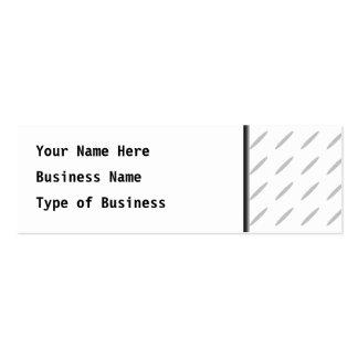 Branco e claro - fundo geométrico cinzento do cartão de visita skinny