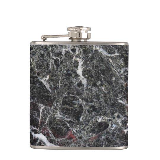 Branco e obscuridade - pedra de mármore cinzenta cantil