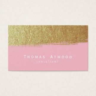 Branco escovado moderno do rosa dos cartões de