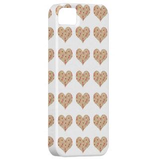 Branco floral simples das capas de iphone 5 do capa barely there para iPhone 5