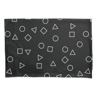 Branco geométrico minimalista elegante do preto do