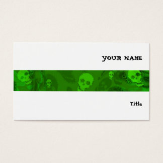 Branco horizontal da listra dos espectros do cartão de visitas