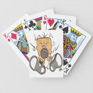 branco ising baralho de cartas