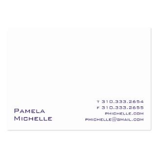 Branco IX Cartão De Visita