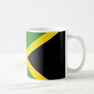 branco jamaicano da bandeira caneca do clássico de