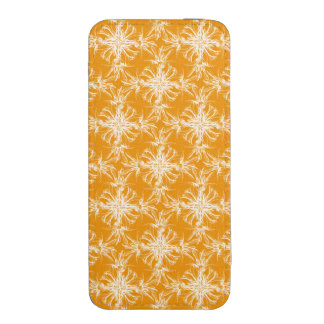 Branco na cor damasco da laranja da tangerina bolsa de celular