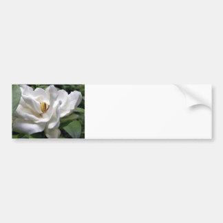 Branco Petalscape do algodão Adesivo Para Carro