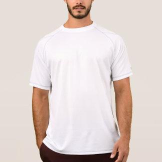 BRANCO seco do dobro do campeão   dos homens T-shirt