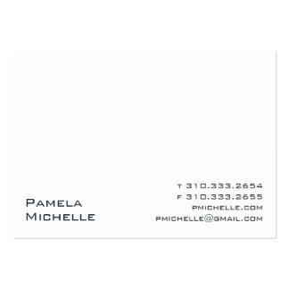 Branco VIII Cartões De Visitas