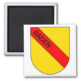 Brasão Badisches com escritura Imã De Refrigerador