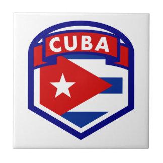 Brasão da bandeira de Cuba