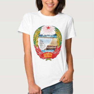 Brasão da Coreia do Norte T-shirt