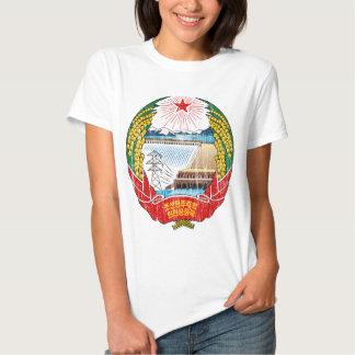 Brasão da Coreia do Norte Tshirt