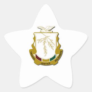 Brasão da Guiné Adesivo Em Forma De Estrela