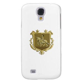 Brasão da lança do Steed da equitação do cavaleiro Galaxy S4 Cover