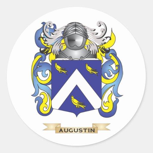 Brasão de Agostinho (crista da família) Adesivo