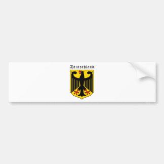 Brasão de Alemanha Adesivo Para Carro