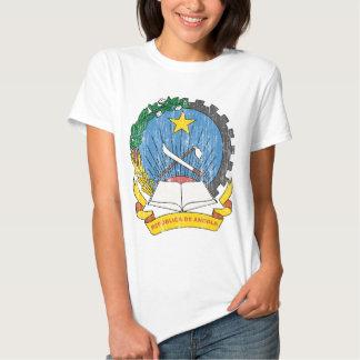 Brasão de Angola Camisetas