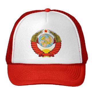 Brasão de antiga União Soviética Boné