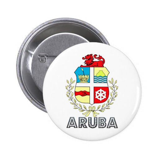 Brasão de Aruba Pins