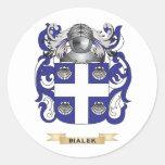Brasão de Bialek (crista da família) Adesivo