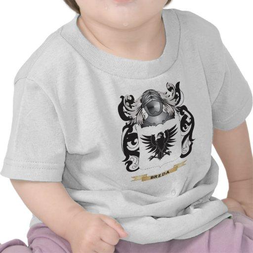 Brasão de Breda (crista da família) Camisetas
