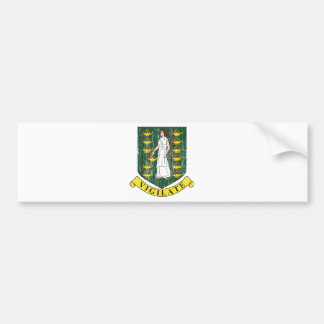 Brasão de British Virgin Islands Adesivo
