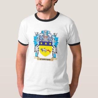 Brasão de Carraro - crista da família Tshirt