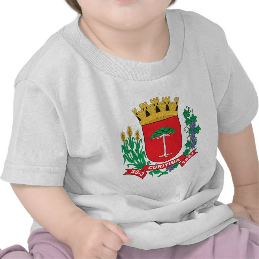 Brasão de Curitiba Tshirt