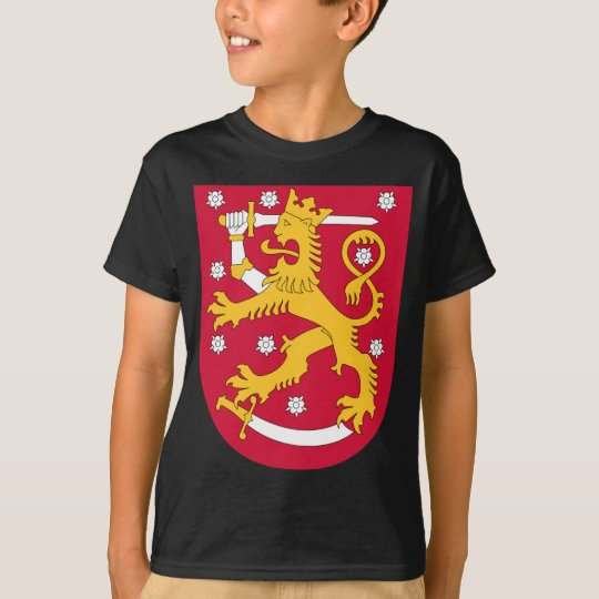 Brasão de Finlandia - Suomen Vaakuna Camiseta
