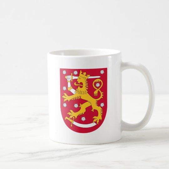 Brasão de Finlandia - Suomen Vaakuna Caneca De Café