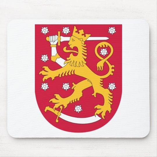 Brasão de Finlandia - Suomen Vaakuna Mouse Pad