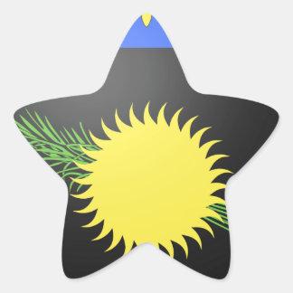 Brasão de Guadalupe (France) Adesito Estrela