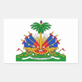 Brasão de Haiti Adesivo Retangular