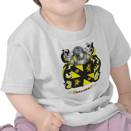 Brasão de Kramer (crista da família) Camisetas